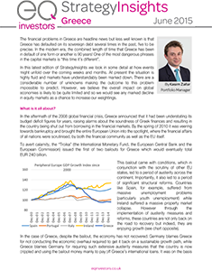 Strategy Insights June 2015 - Greece