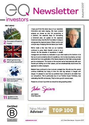 EQ Investors Newsletter Autumn 2017