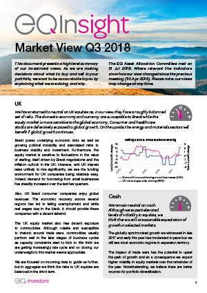 Market View Q3 2018