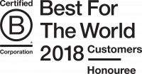 Best for the World Customers 2018