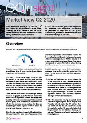Market View Q2 2020